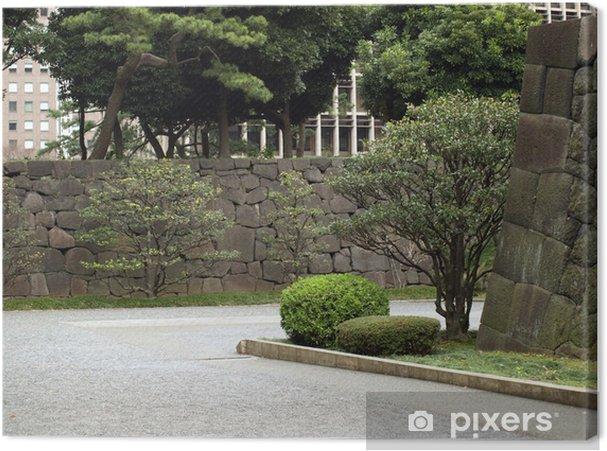 Obraz na plátně 城 の 石 垣 - Památky