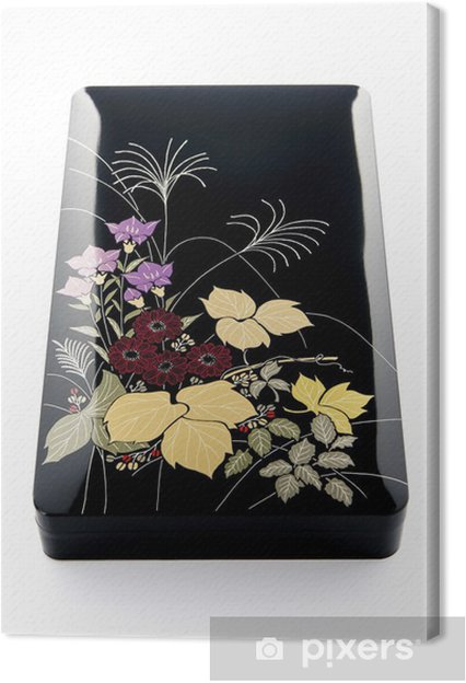 Obraz na plátně 日本 の 伝 統 的 な 工 芸 品 の 箱 - Surové materiály