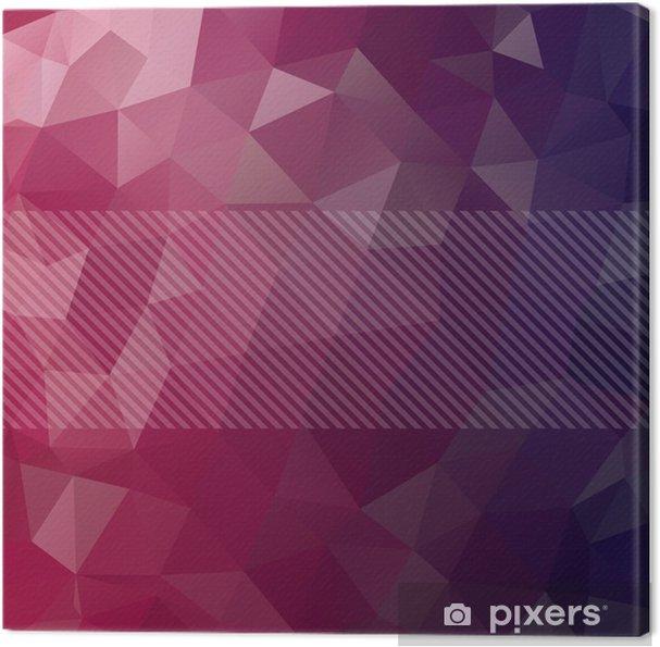 Obraz na plátně Abstraktní pozadí obdélníky - Prvky podnikání