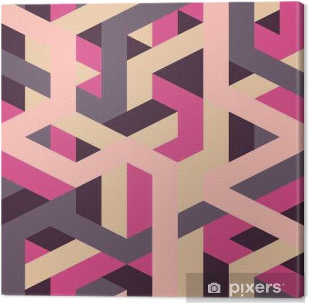 Obraz na plátně Abstraktní retro geometrický vzor - Kultura a náboženství