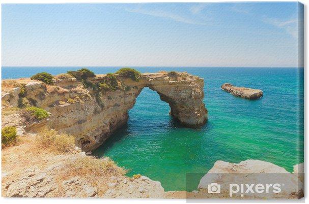 Obraz na plátně Algarve Strand - Algarve Beach - Prázdniny