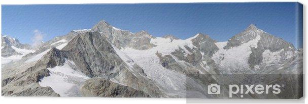 Obraz na plátně Alpen Panorama - Evropa