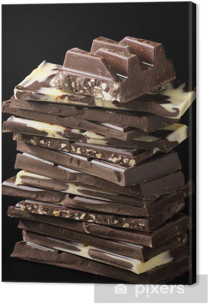 Obraz na plátně Assorted čokoláda - Témata