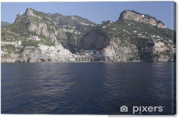 Obraz na plátně Atrani od moře - Evropa