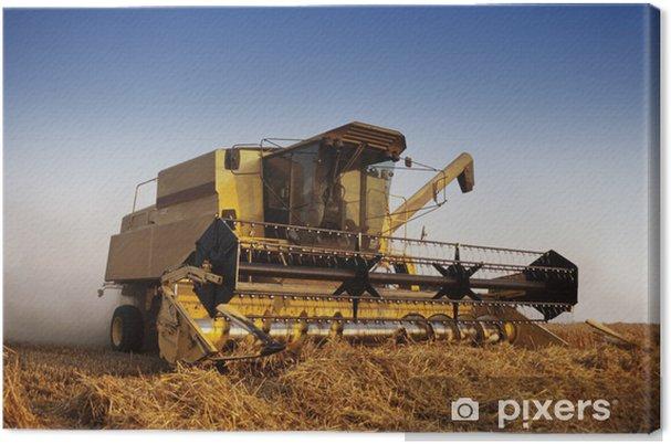 Obraz na plátně Combine harvester - Jiné