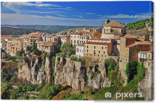Obraz na plátně Cuenca.Spain. ztratil v útesy - Evropa