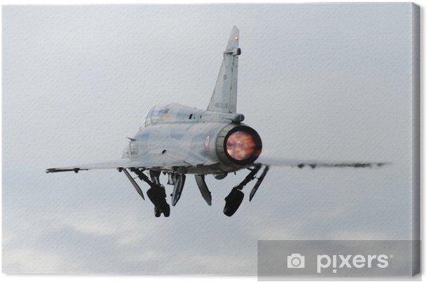 Obraz na plátně Décollage Mirage 2000 - Vzduch