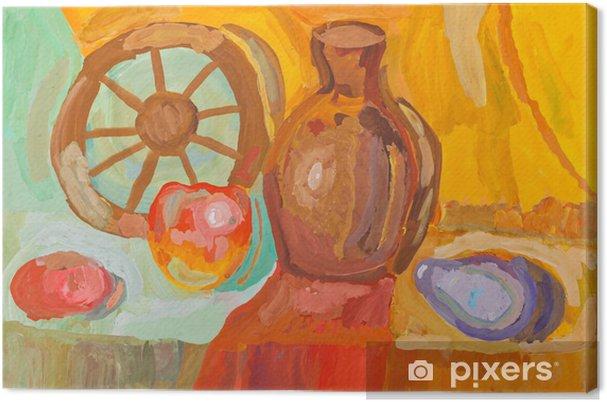 Obraz Na Platne Deti Kresleni Venkovsky Zatisi Pixers Zijeme