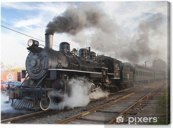 Obraz na plátně Essex Parní vlak - Témata