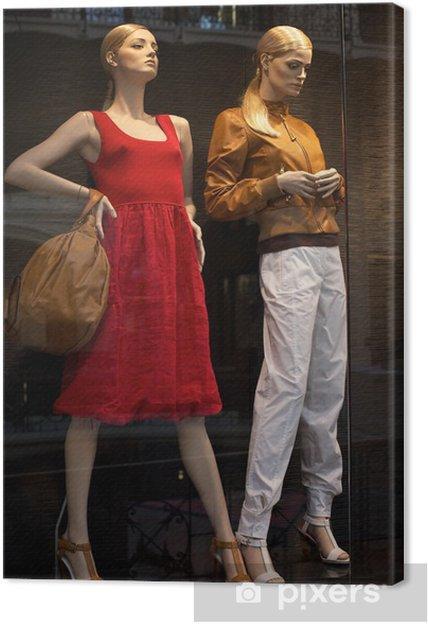 f72965b90734 Obraz na plátně Figuríny v obchodu s oděvy • Pixers® • Žijeme pro změnu