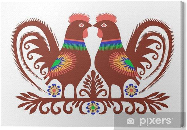 Obraz na plátně Folk Theme - Kulturní svátky jiných národů