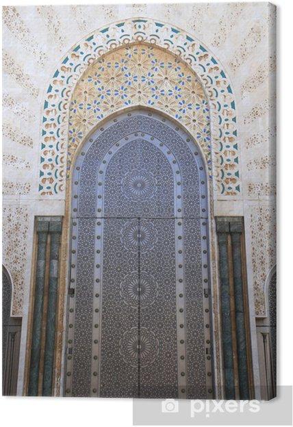 Obraz na plátně Hassan II Mosque - Afrika