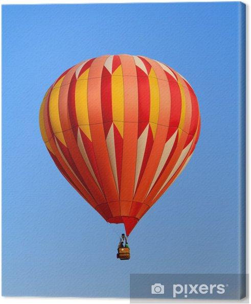 Obraz na plátně Horkovzdušný balón - Vzduch
