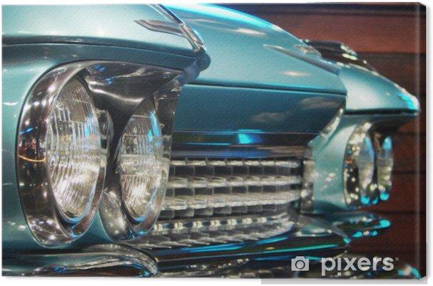 Obraz na plátně Klasické detaily auto - Na cestě