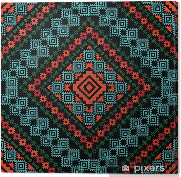 Obraz na plátně Kmenové okrasných vzor - Styly