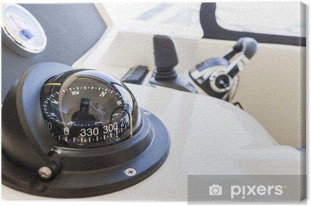 Obraz na plátně Kompas - Lodě
