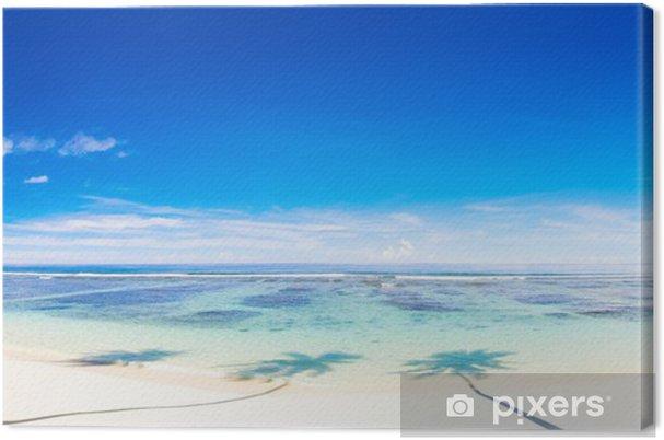 Obraz na plátně Krásný panoramatický scence - Oceánie