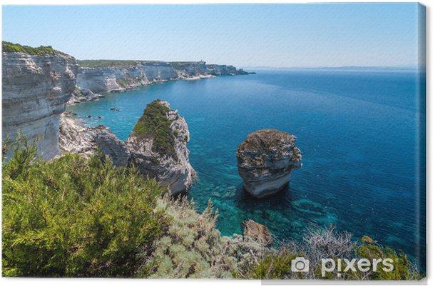 Obraz na plátně Küste von Bonifacio, Korsika, Frankreich - Témata