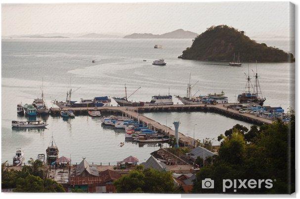 Obraz na plátně Labuanbajo Bay, Flores, Indonésie - Asie