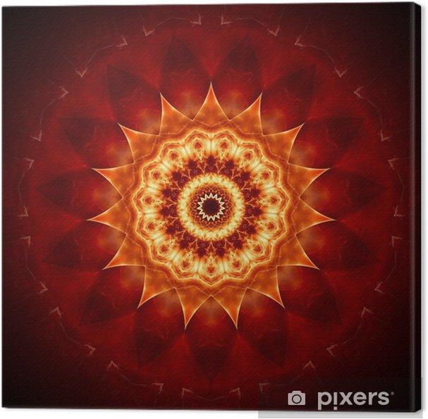 Obraz na plátně Mandala goldbraun II • Pixers® • Žijeme pro změnu c9683b1c9a