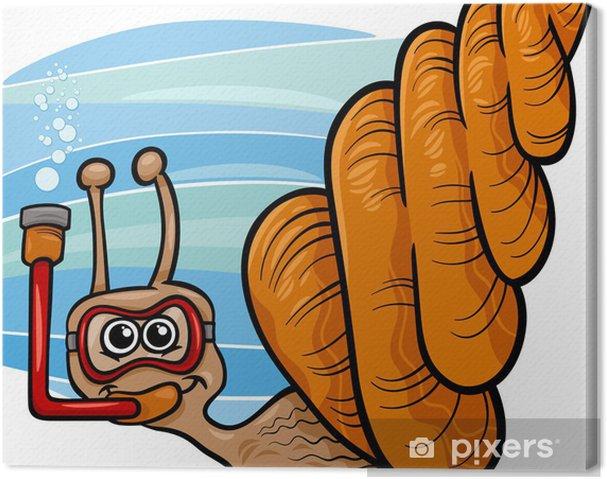 Obraz Na Platne More Hlemyzd Kreslene Ilustrace Pixers Zijeme