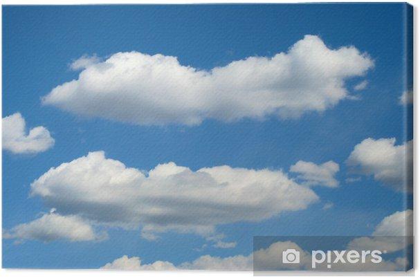 Obraz na plátně Mraky - Nebe