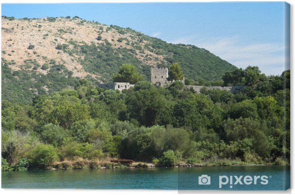 Obraz na plátně Národní park Butrint, Albánie - Evropa
