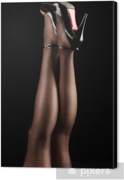 Obraz na plátně Nohy dokonalost - Témata