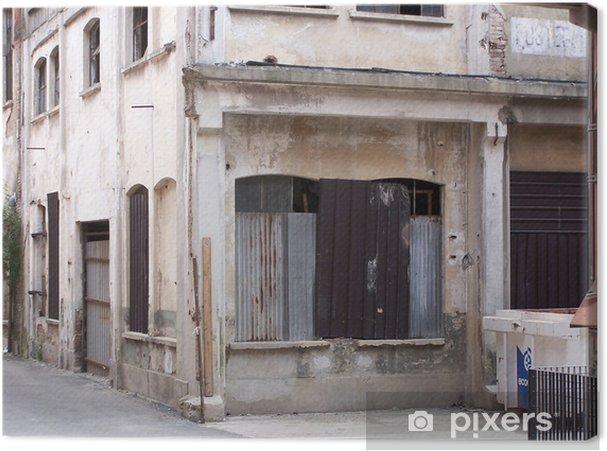 Obraz na plátně Opuštěné továrny 3 - Památky