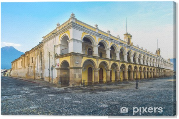 Obraz na plátně Palace Capitans Antigua, Guatemala - Amerika
