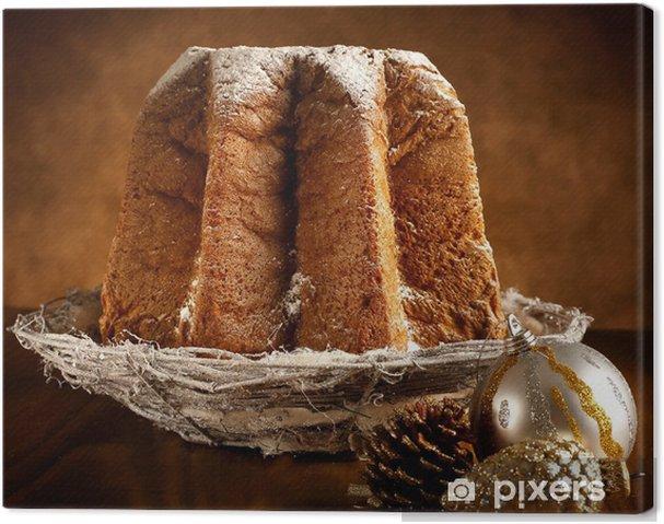 Obraz na plátně Pandoro s moučkovým cukrem - Mezinárodní svátky