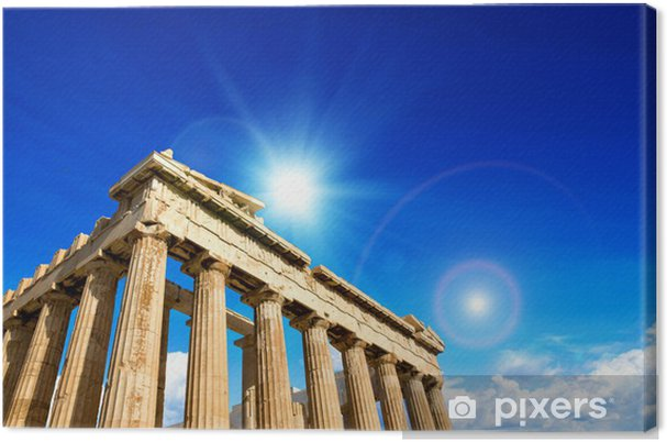 Obraz na plátně Parthenon na Akropoli - Témata