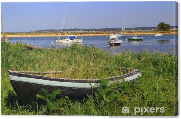 Obraz na plátně Paysage námořní - Prázdniny