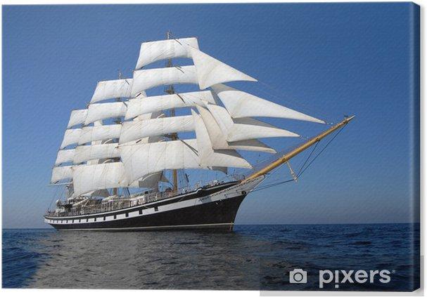 Obraz na plátně Plachetní loď - Osud
