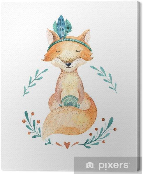 Obraz Na Platne Roztomily Baby Fox Zvire Pro Materskou Skolu Skolka