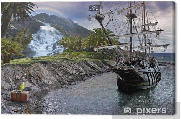 Obraz na plátně Treasure Hunt - Osud