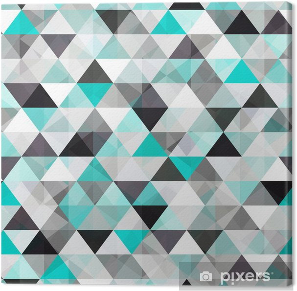 Obraz na plátně Tyrkysový lesklý vektor pozadí - Styly