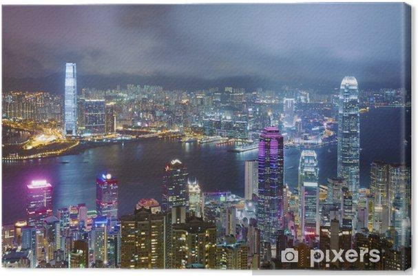Obraz na plátně Victoria přístav v Hongkongu - Témata