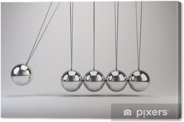 Obraz na plátně Vyvažování koule Rázostroj - Značky a symboly