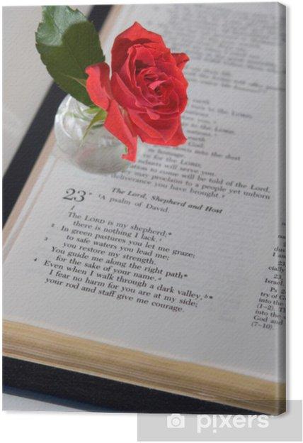 Obraz na plátně Žalm 23 - Témata