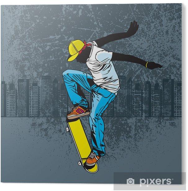Obraz na Pleksi Jazda na deskorolce - Skateboarding