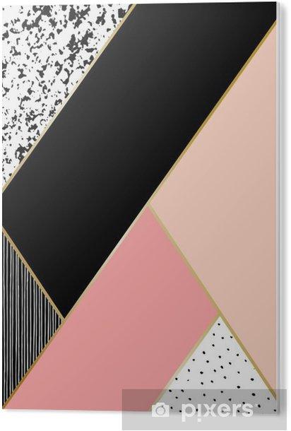 Obraz na Pleksi Kompozycja abstrakcyjna geometrycznej - Zasoby graficzne