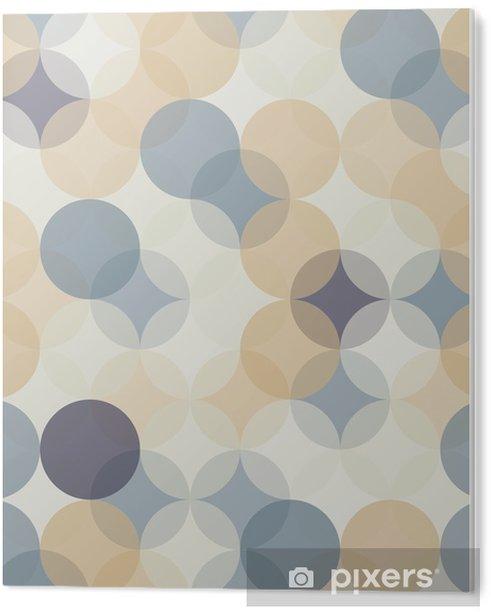 Obraz na Pleksi Wektor bez szwu kolorowe koła nowoczesne Geometria wzór, kolor abstrakcyjne geometryczne tło, tapeta druku, retro tekstury, projektowanie mody hipster, __ - Zasoby graficzne