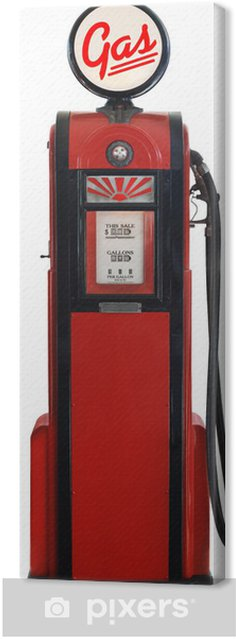 Obraz na płótnie 1950 gaz pompa - Ekologia