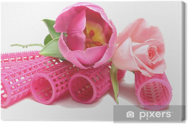 Obraz na płótnie 2 piękno w kolorze różowym - Uroda i pielęgnacja ciała