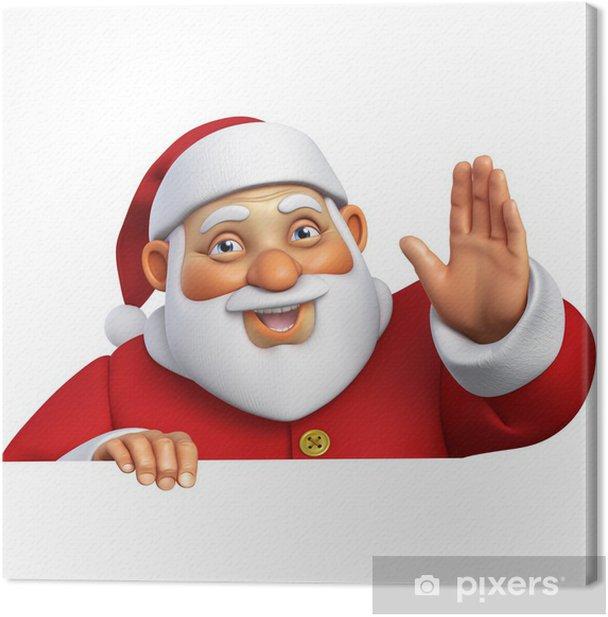 Obraz na płótnie 3d Cartoon Święty - Święta międzynarodowe