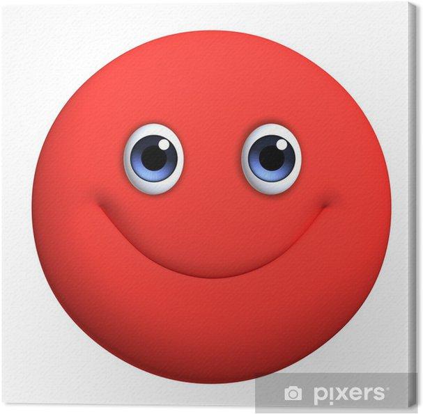 Obraz na płótnie 3d red ball kreskówka - Mężczyźni