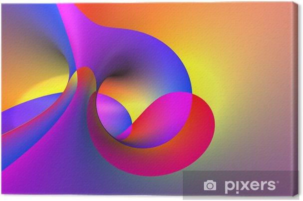 Obraz na płótnie 3d streszczenie spirali - Tematy