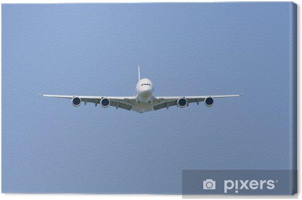Obraz na płótnie A380 - Transport powietrzny