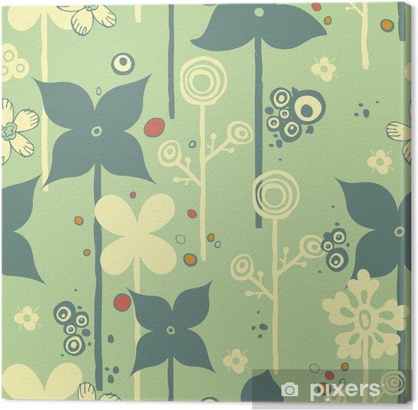 Obraz na płótnie Abstract Floral Pattern SEAMLESS - Tła